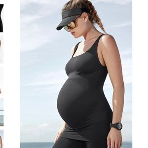 New BLANQI Maternity Belly Support Tank